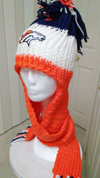 Denver Broncos WarmUps No Brim